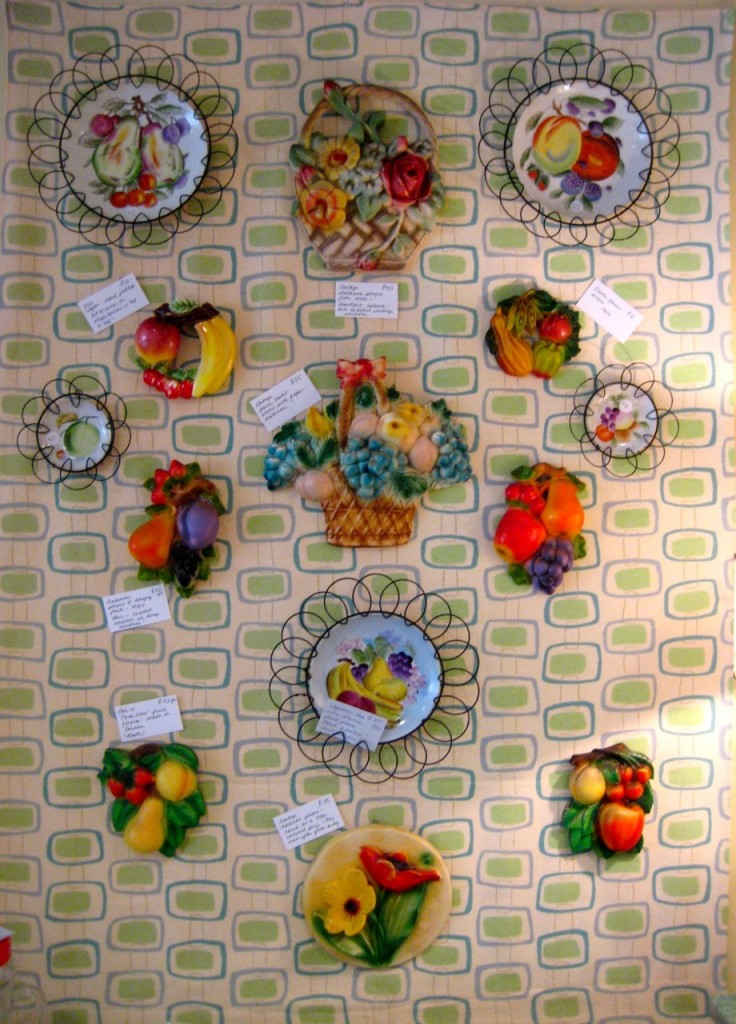 Fruit plaques and plates Assorted prices