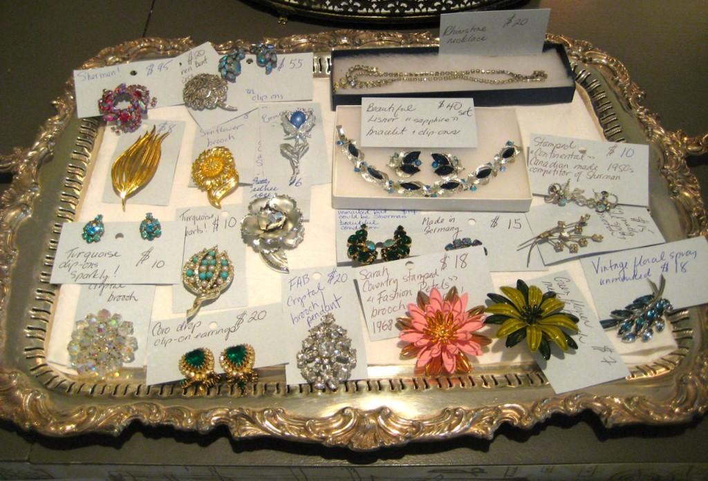 Vintage jewels! Various prices.