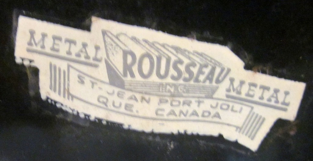 Roussea Metal label