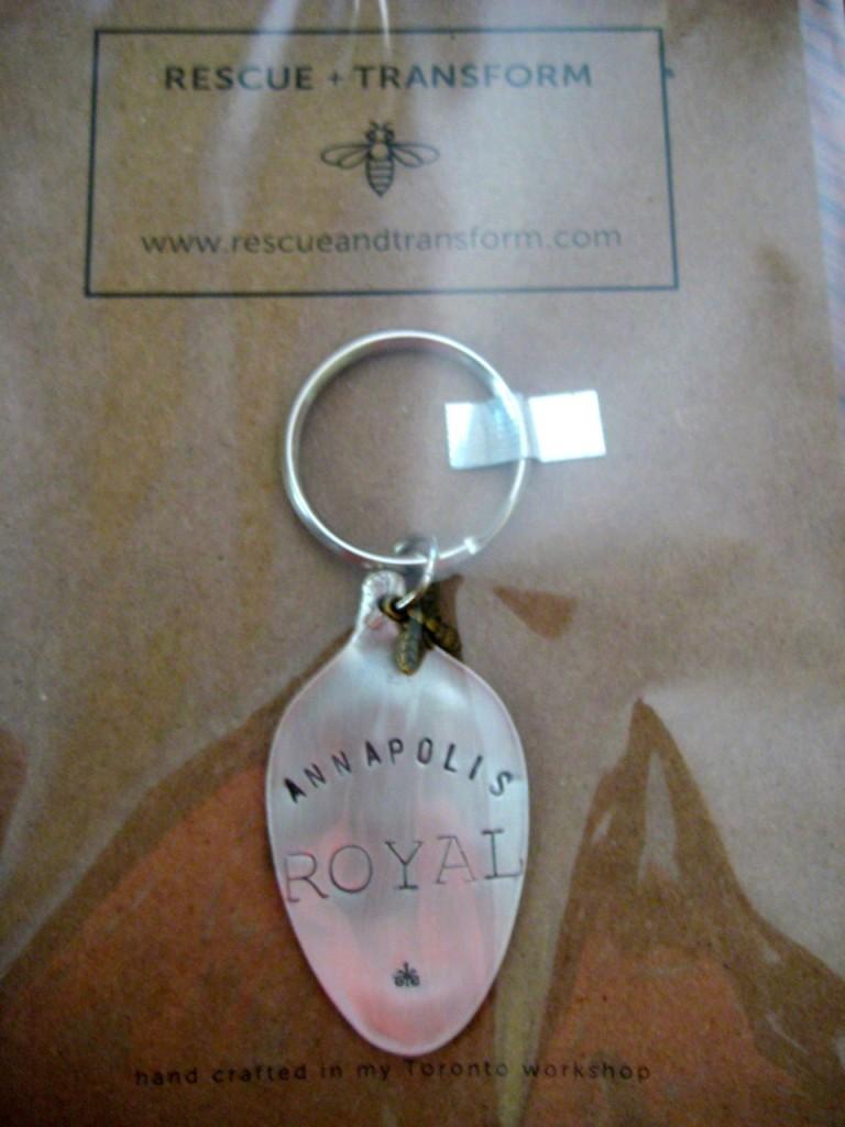 Annapolis Royal keychain> $18.95