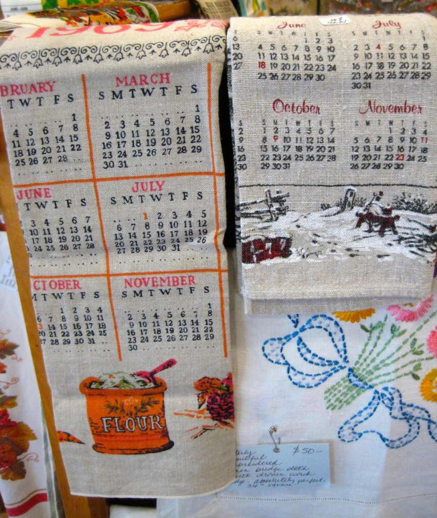 More calendar tea towels!
