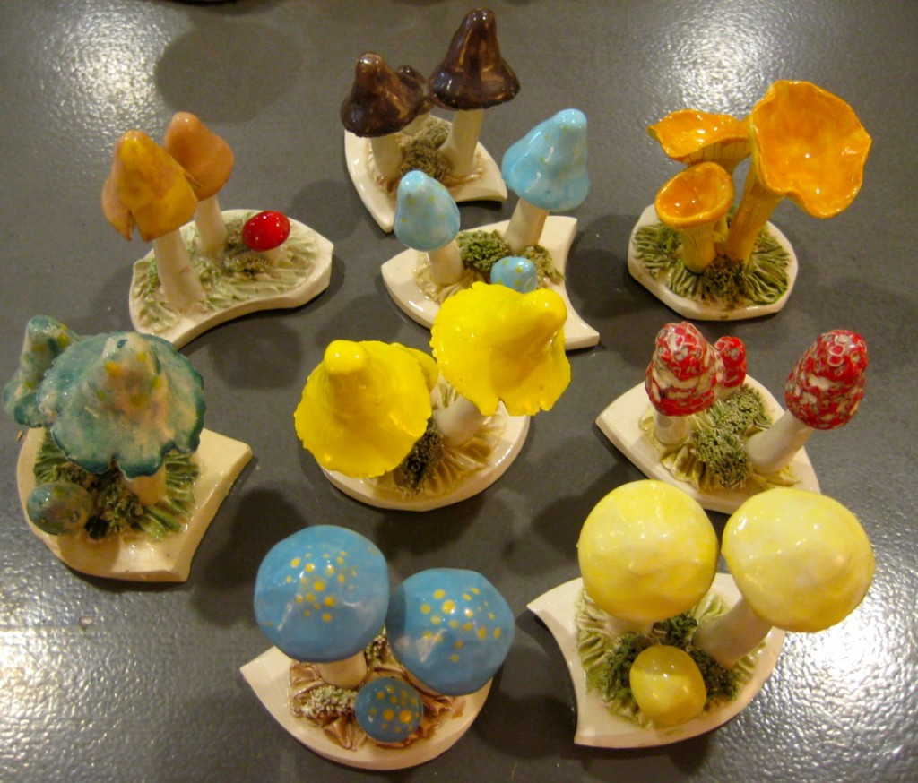 Carol Meindl mushrooms. $20 each