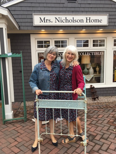 Jane and Christine. Closing Day September 23rd. 2017