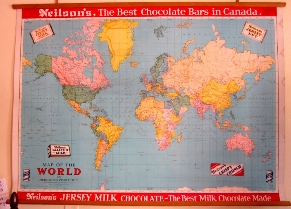 Neilson's World Map. $110