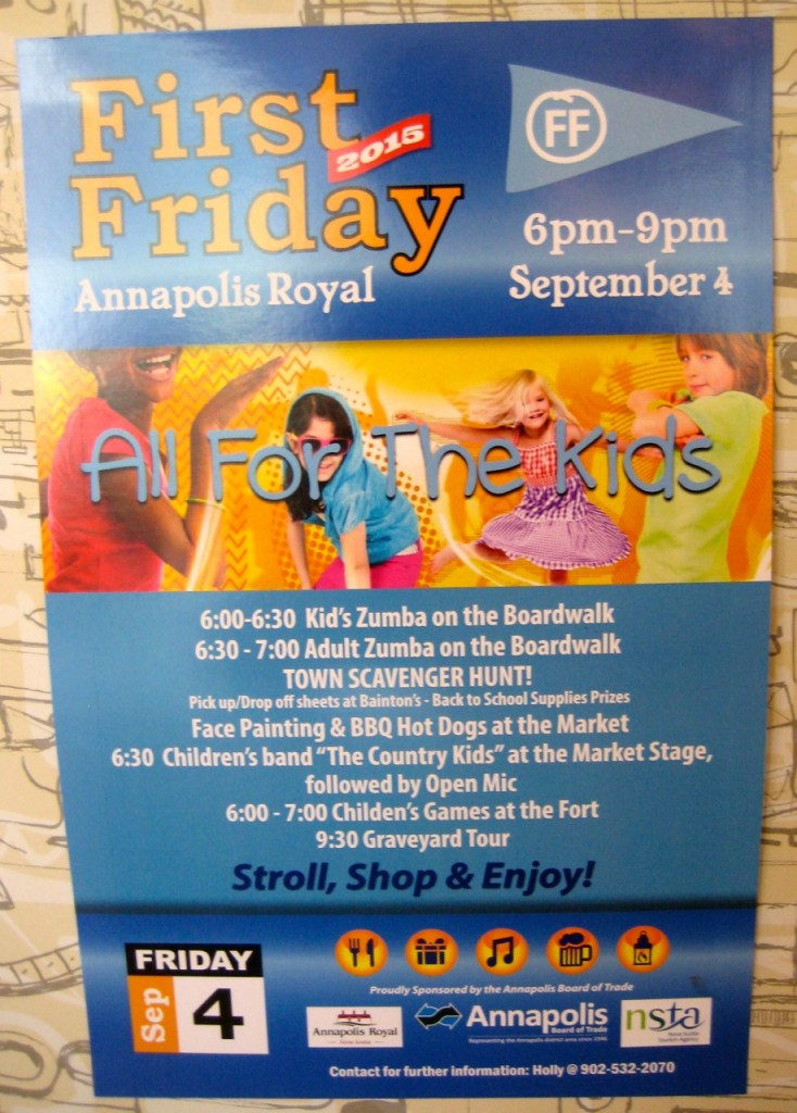 First Friday activities!
