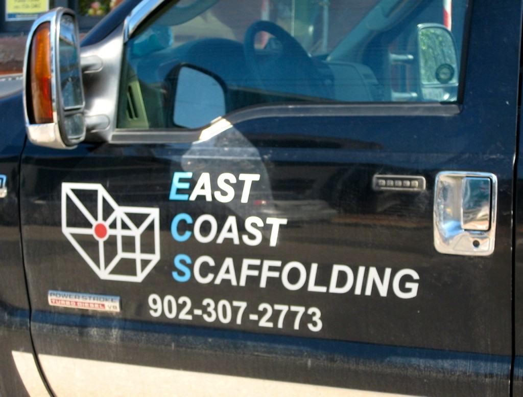 Need scaffolding ? Call Dean Pearce at East cost Scaffolding.