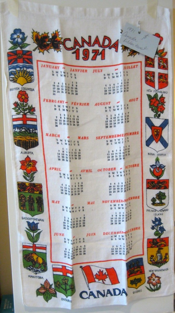 Canada kitchen towel. $10